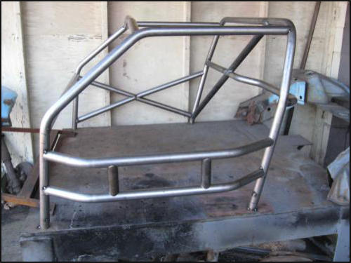 Tangerine Racing Roll Cages